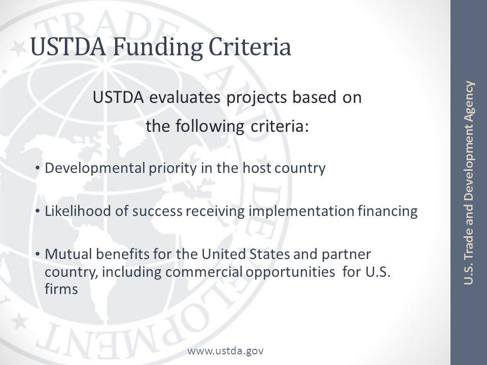 www.ustda.gov U.S.