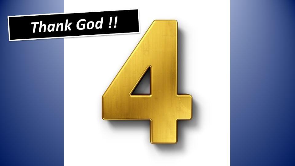 Thank God !!