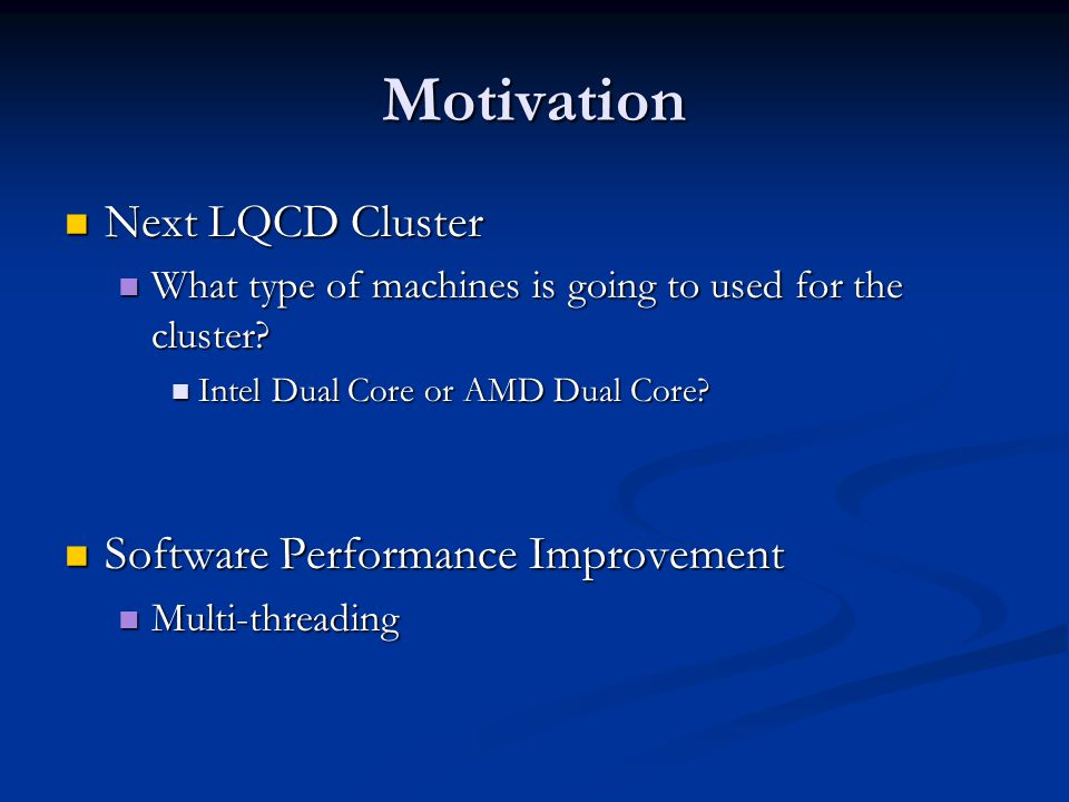 Different Machines Provide Different Scalability for Threaded Applications