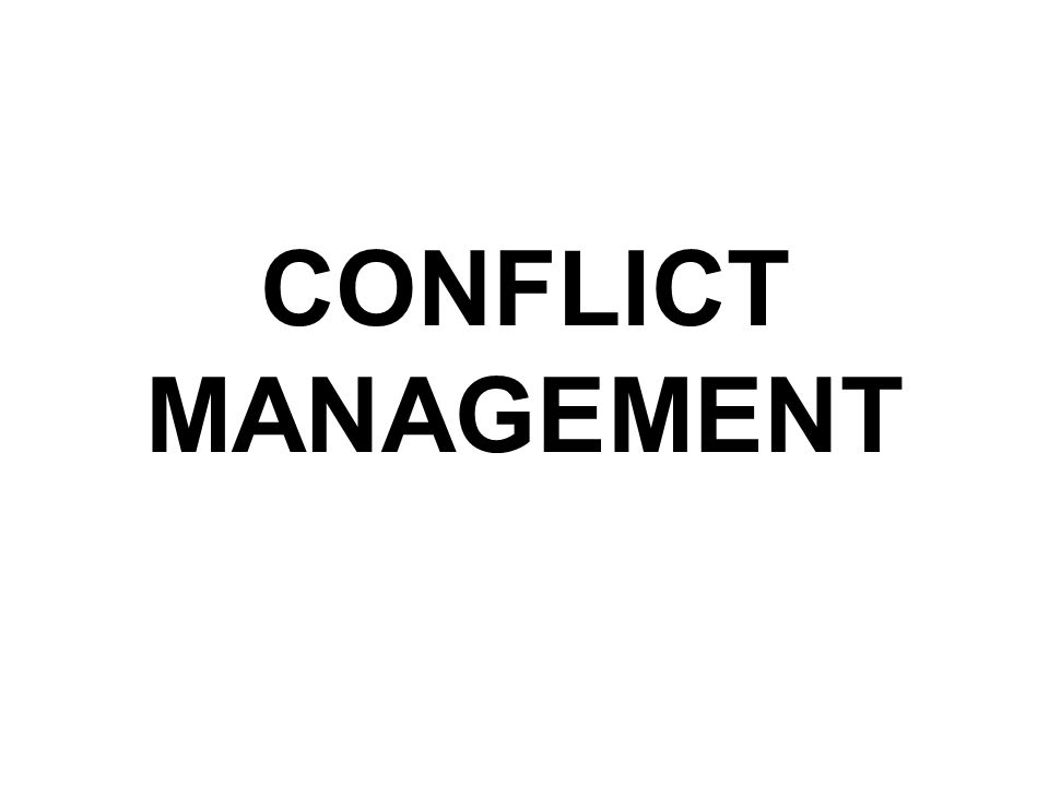 Different Techniques in Managing Conflicts FORCING/DOMINATING COLLABORATING/ WIN-WIN COMPROMISING AVOIDING ACCOMMODATING