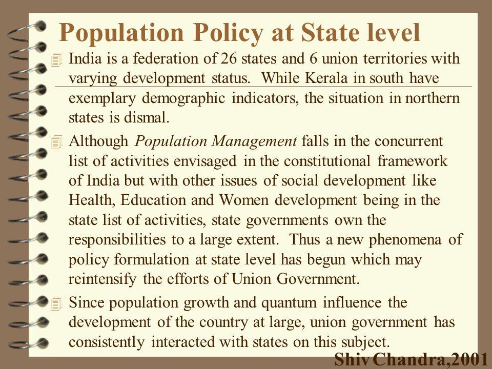 Population Program Promotional Measures 4 providing fertility regulating information/services 4 furnishing family life/sex education information 4 imp