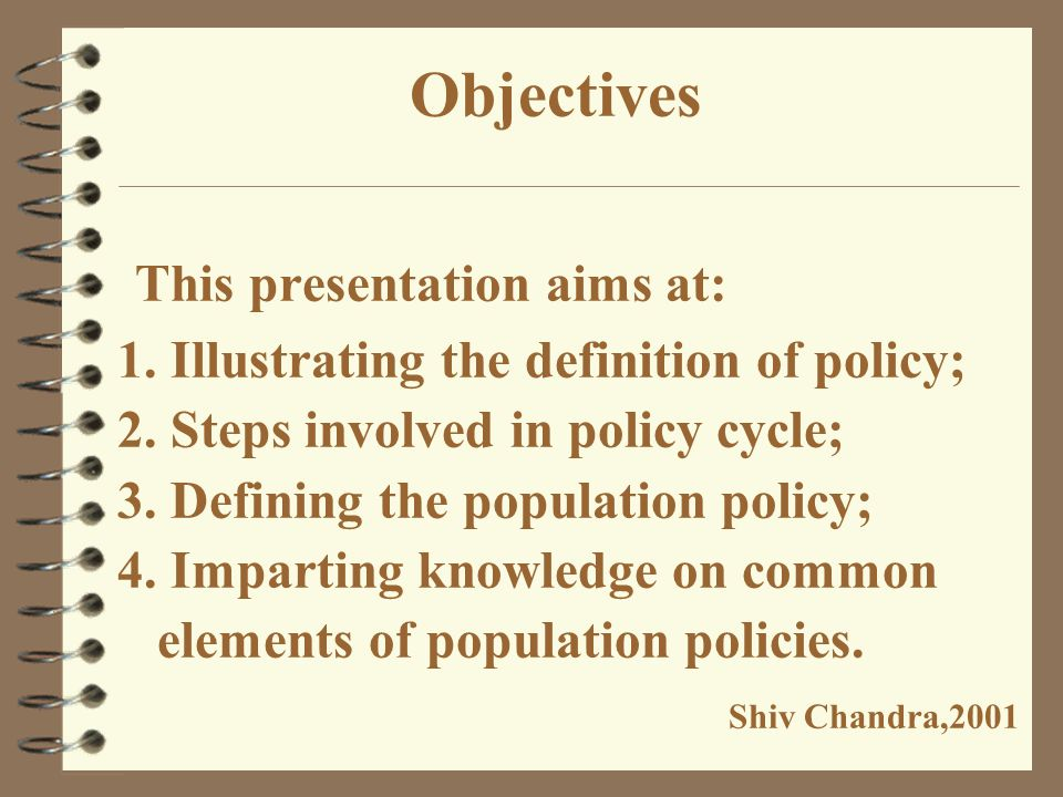 Why this presentation? India with a population of more than one billion scattered in 26 states and 8 union territories provide a unique ground for stu
