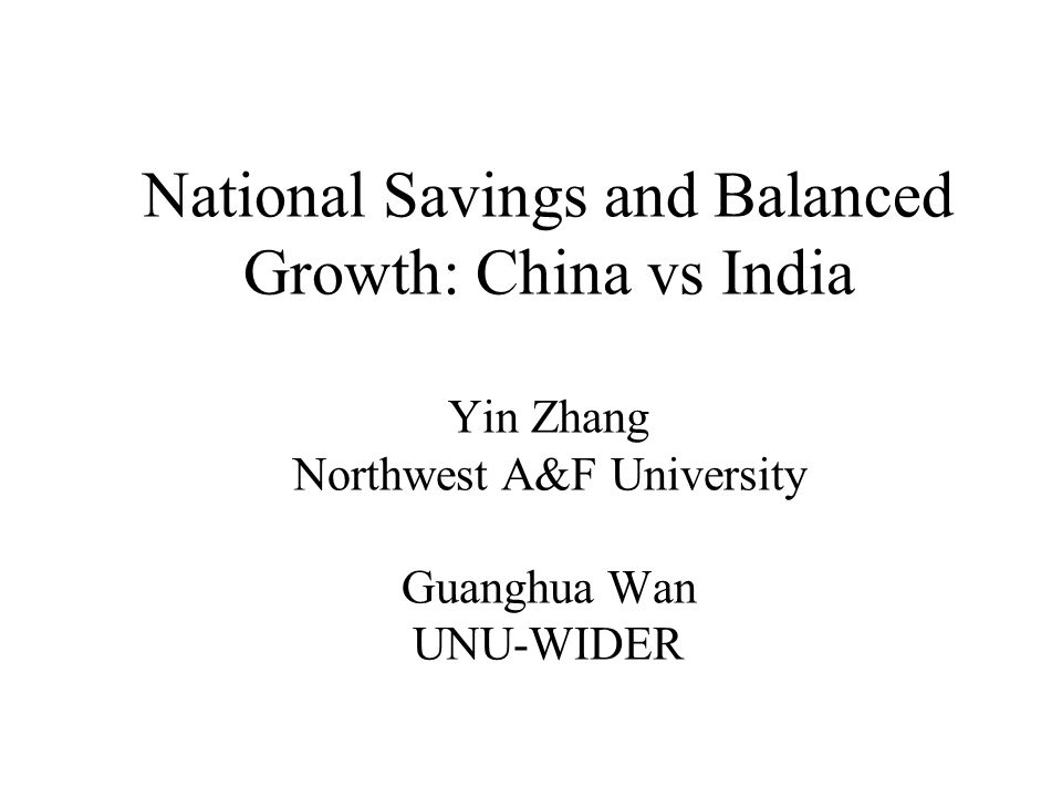 Background China –GDP annual growth 9.5% –2nd largest in PPP term in 2004 India –GDP annual growth 5.8% –4th largest in PPP term in 2004