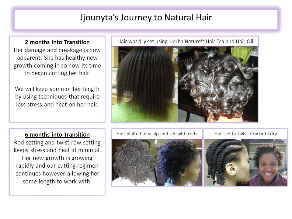 Jjounyta's Journey to Natural Hair 2 months into Transition Her damage and breakage is now apparent.