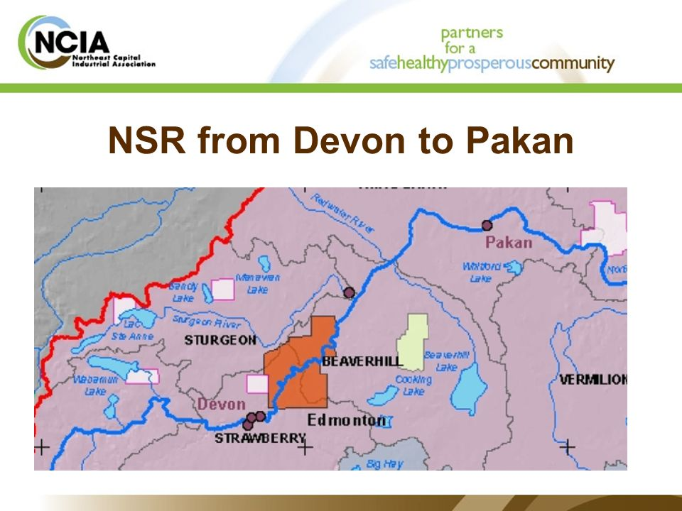 NSR from Devon to Pakan