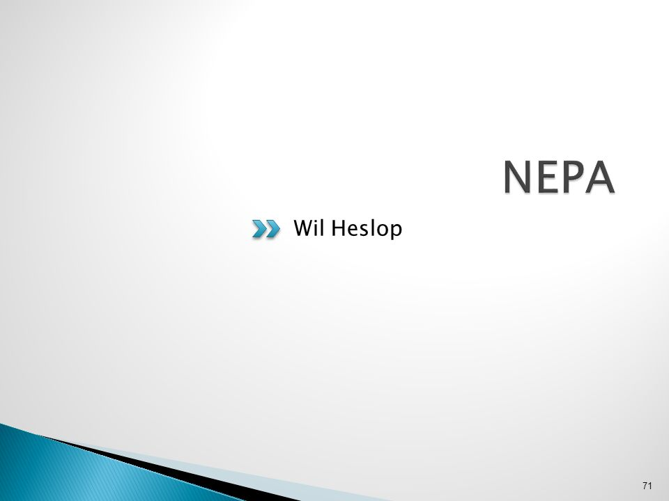Wil Heslop 71
