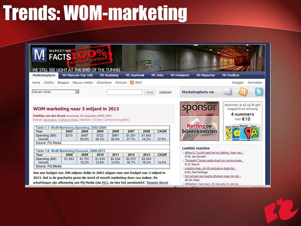 Trends: WOM-marketing