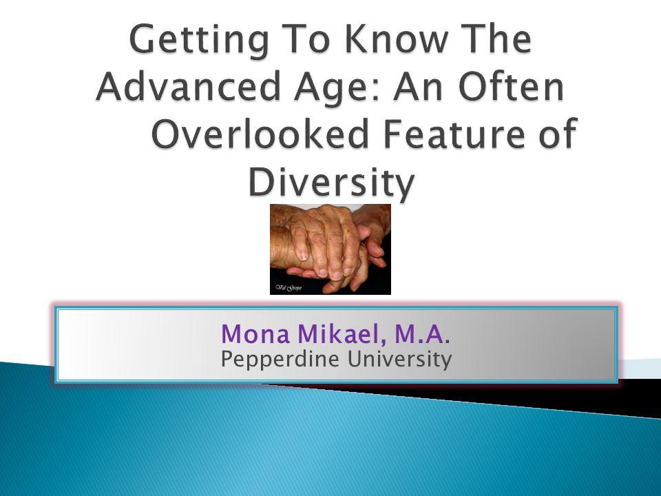 Mona Mikael, M.A. Pepperdine University