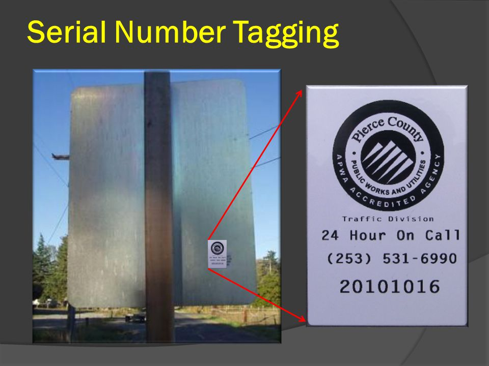 Serial Number Tagging
