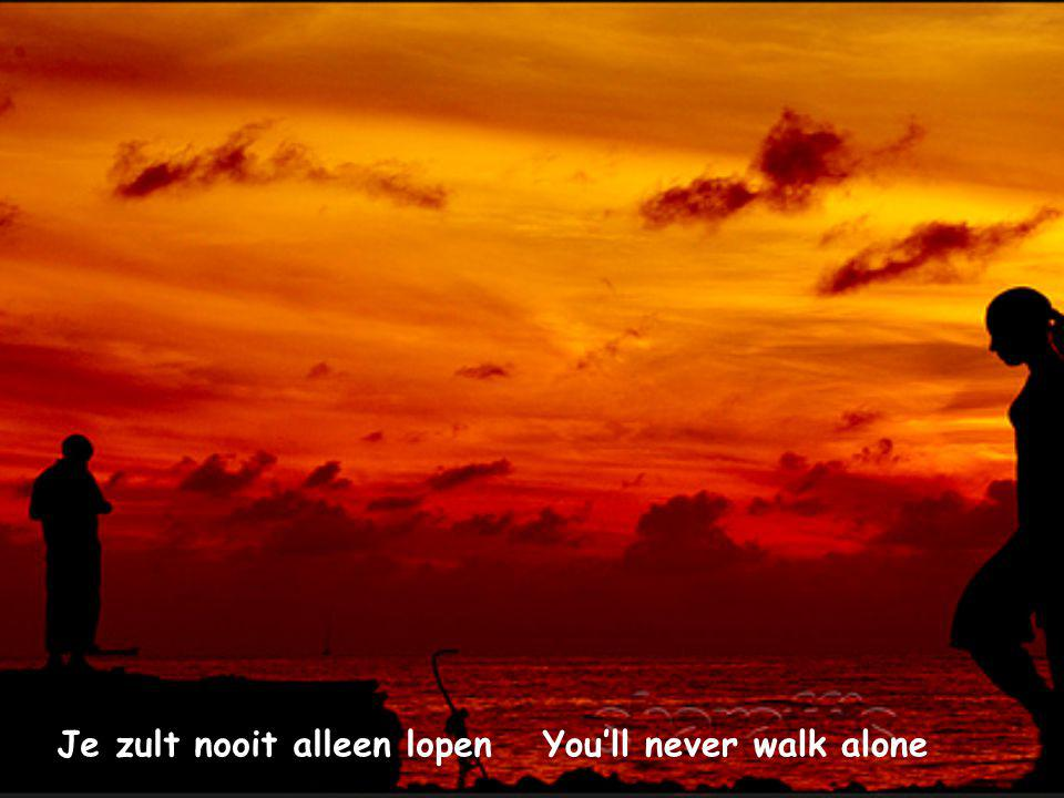 And you'll never walk aloneEn je zult nooit alleen lopen