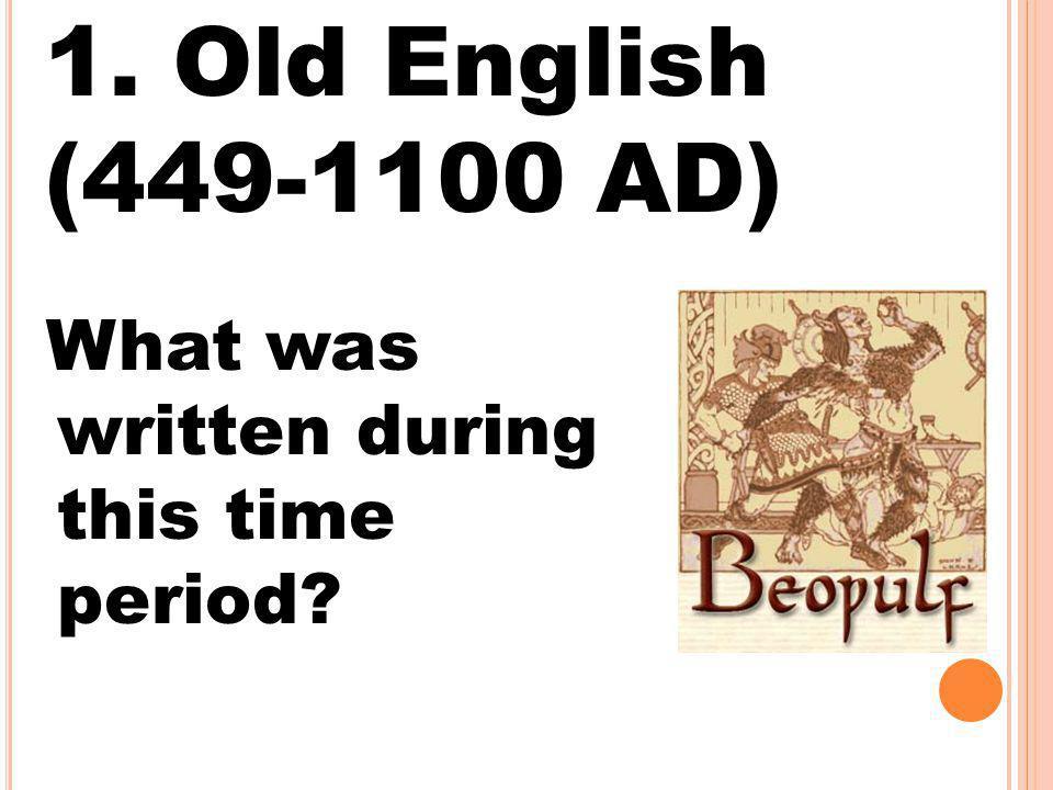 English was once considered slang.