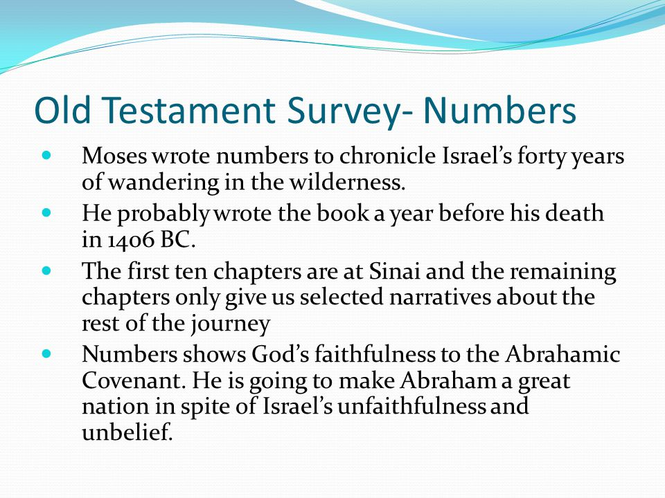 Old Testament Survey- Leviticus II. Israel's Walk with God in Fellowship (11-27) B. The Festivals of God's People (23-27) The Year of Jubilee- The ide