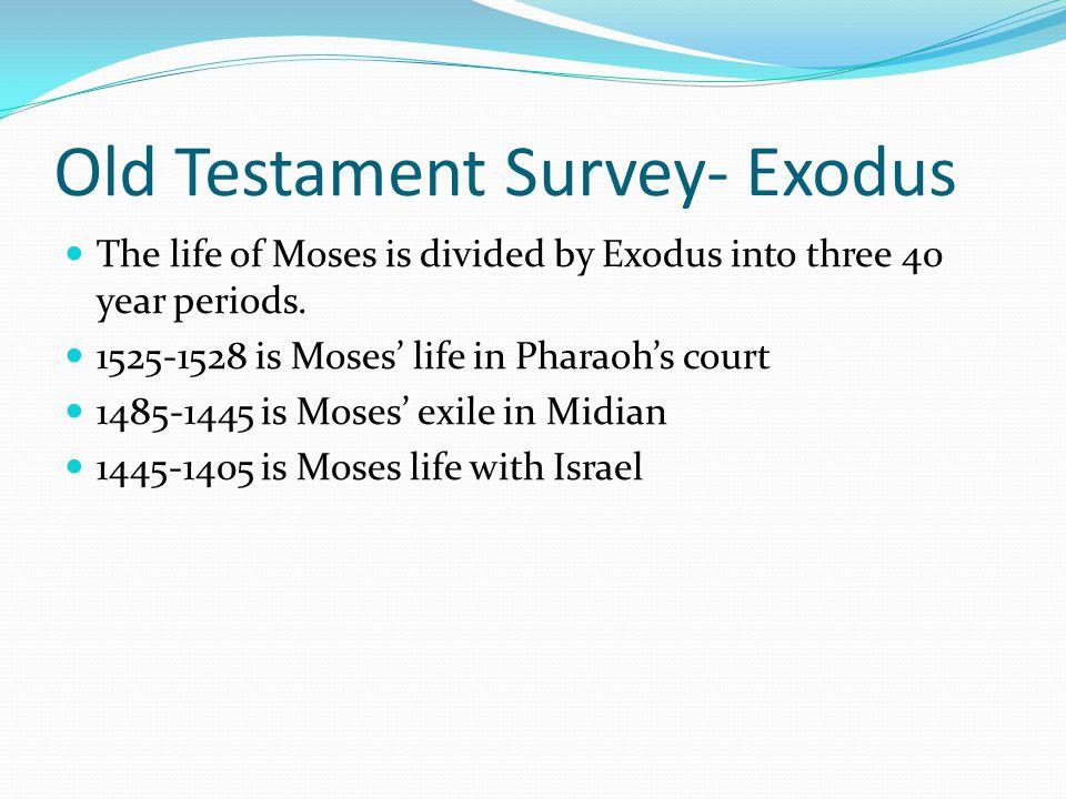 Old Testament Survey- Exodus Pharaoh 1. Sesostris III (1878-1841 BC) 2. Amenemhet III (1841- 1797 BC) 3. Ahmose I (1570-1548 BC) 4. Amenhotep (1548-15