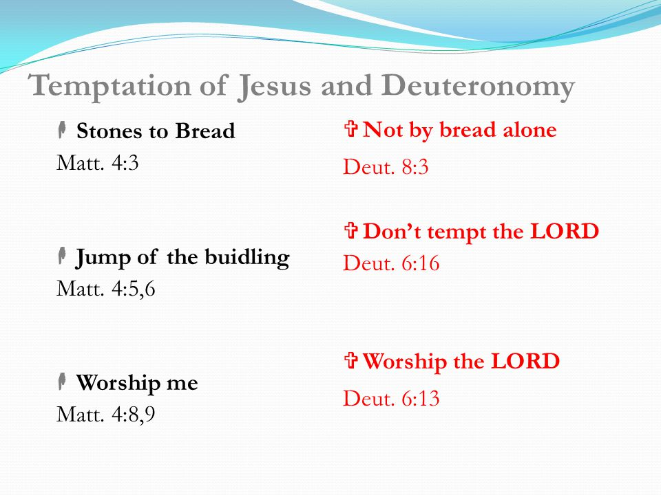 Old Testament Survey- Deuteronomy Deuteronomy 7 warns that the Canaanites must be exterminated Deuteronomy 11 warns that the land will not be like oth