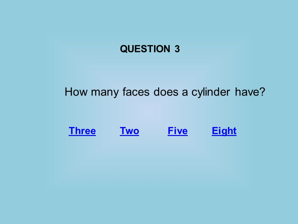 QUESTION 2 Which of the following formulas would be used to calculate the area of a trapezoid.
