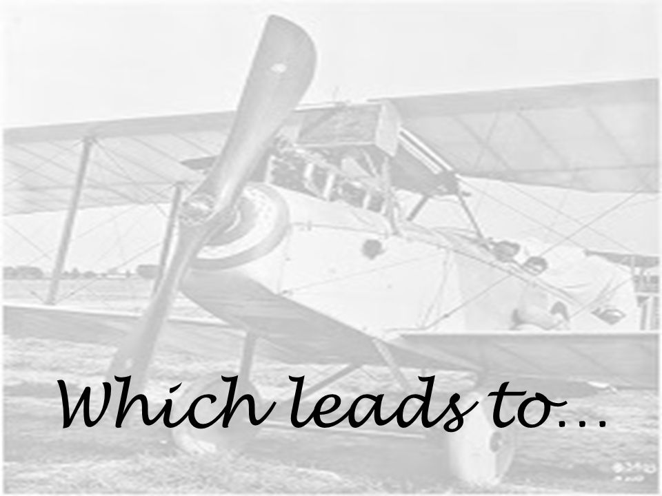 Which leads to…