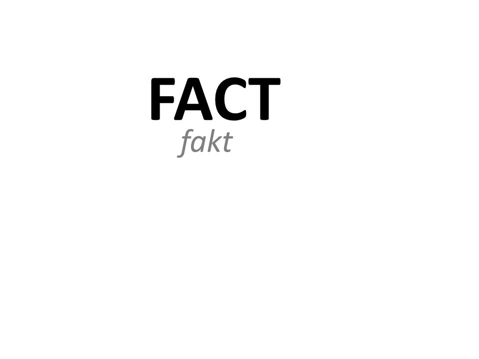 FACT fakt