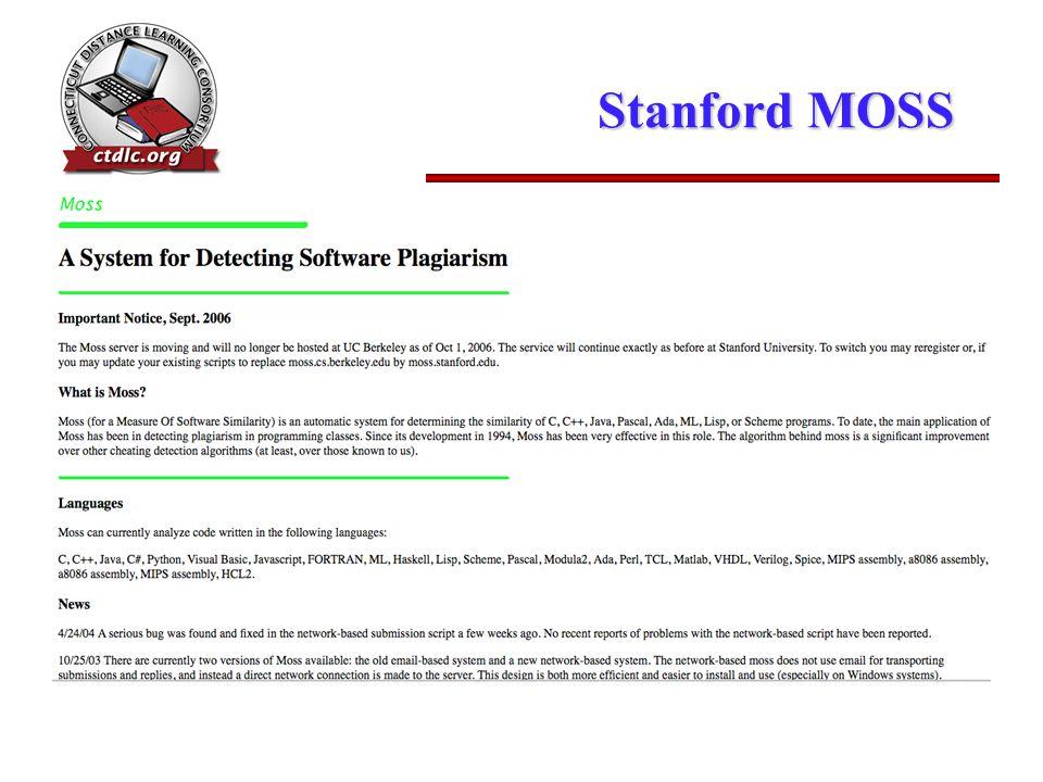 Stanford MOSS