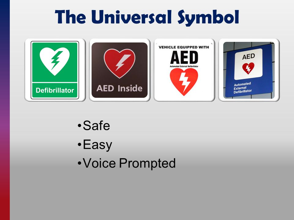 The Universal Symbol Safe Easy Voice Prompted