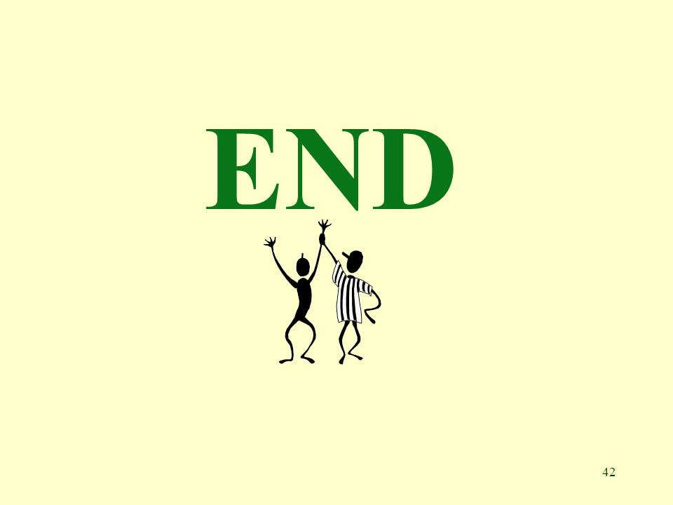 42 END