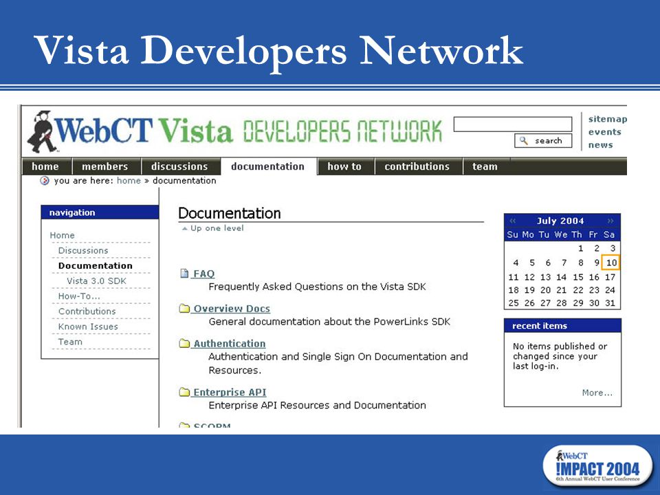 Vista Developers Network