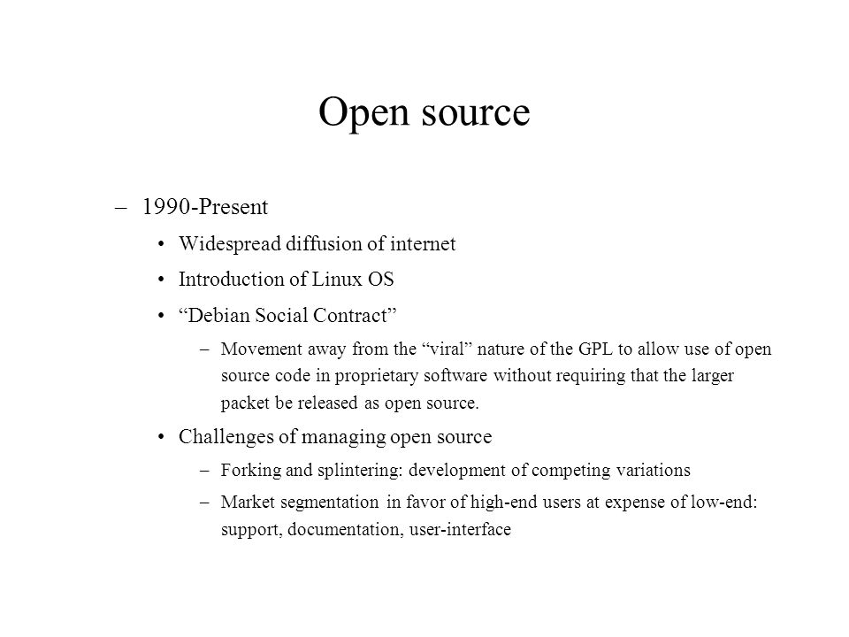 Open source Economic Theory and Open Source –Altruism.