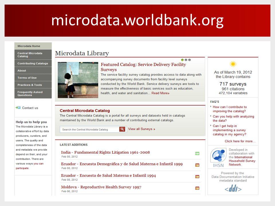 microdata.worldbank.org