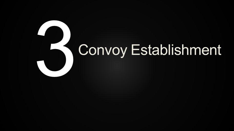 3 Convoy Establishment