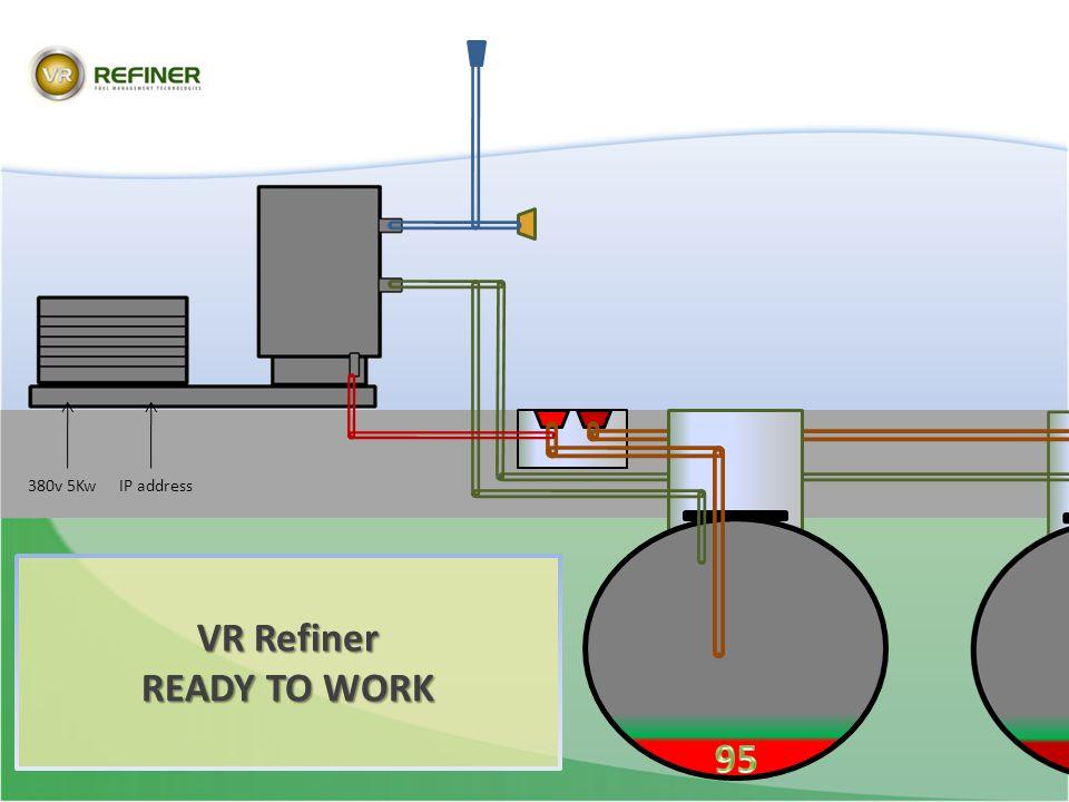 VR Refiner READY TO WORK 380v 5KwIP address