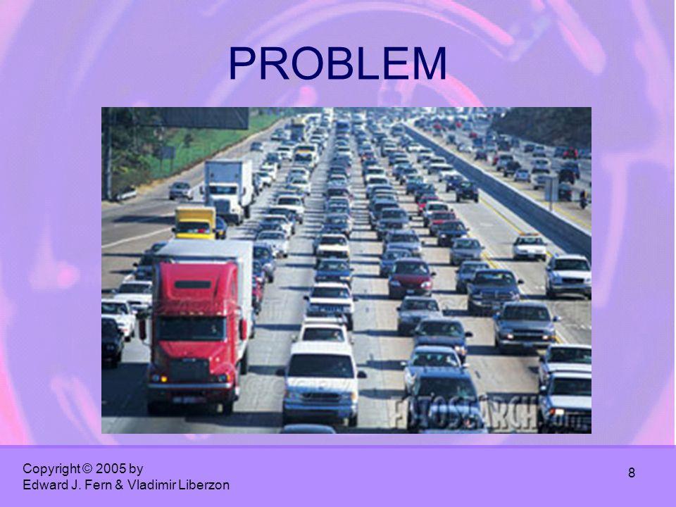 Copyright © 2005 by Edward J. Fern & Vladimir Liberzon 8 PROBLEM