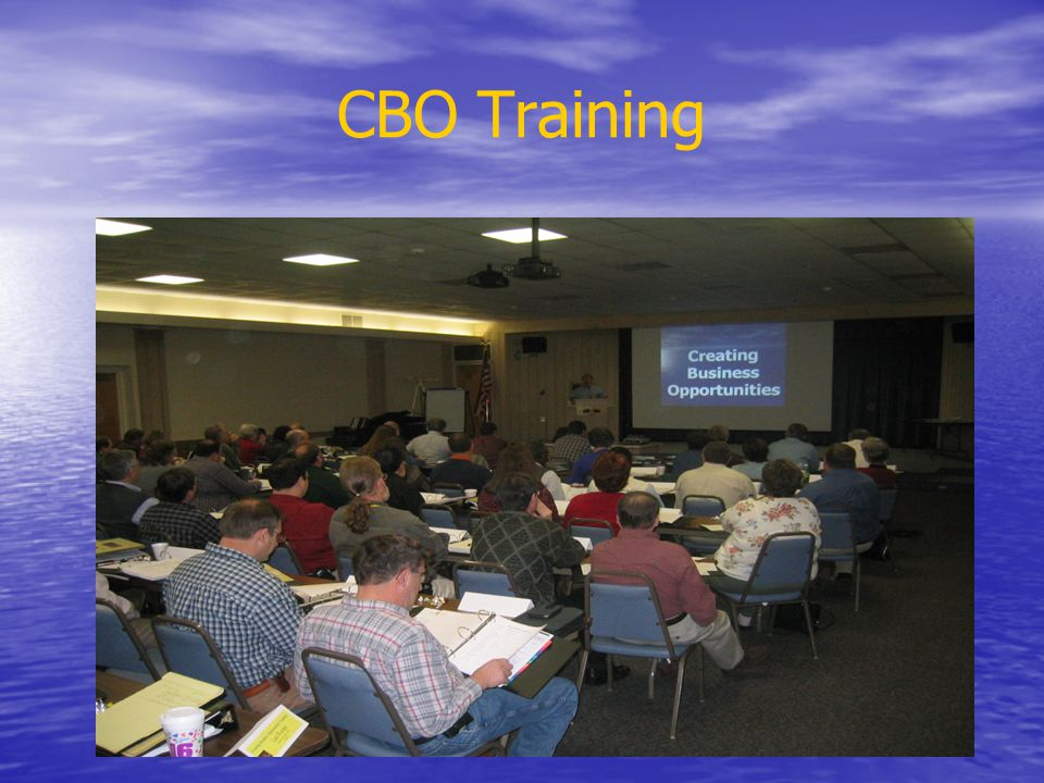 CBO Training