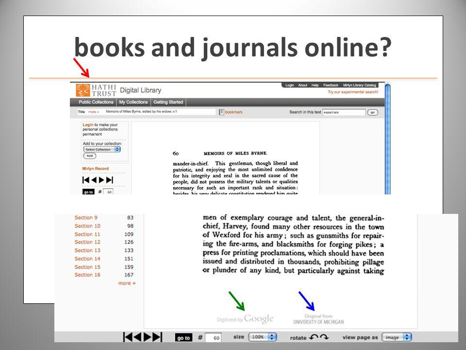 www.hathitrust.org books and journals online