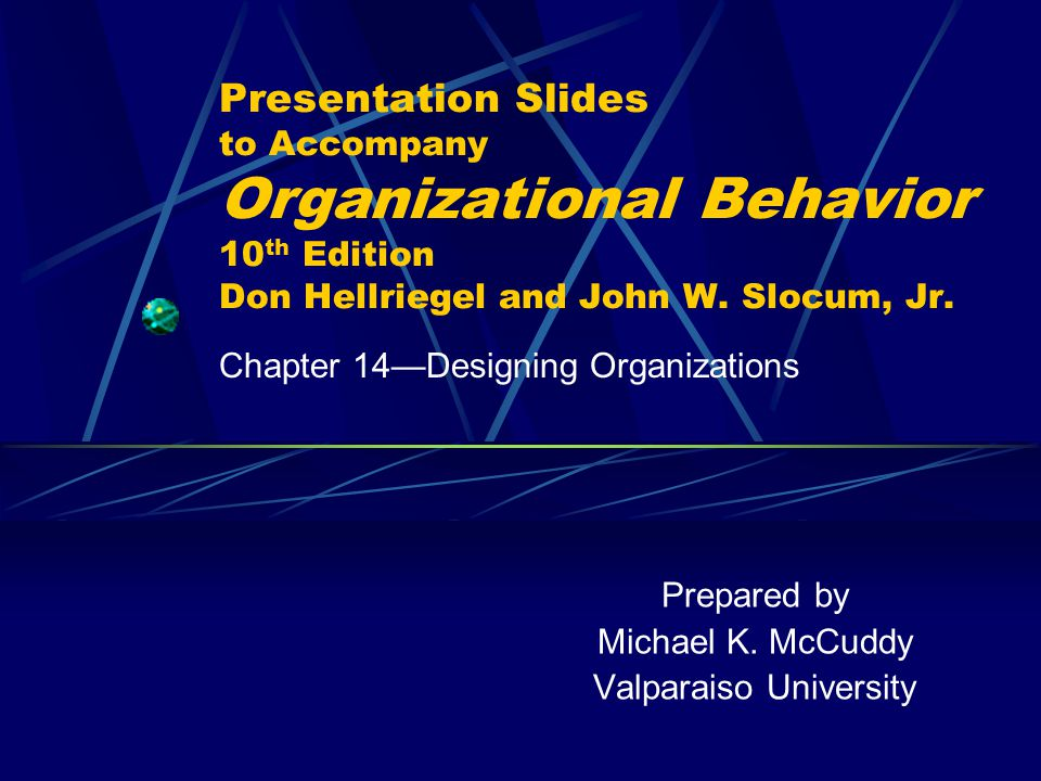 Chapter 14: Designing Organizations236 Slide 14.1 Learning Objectives for Designing Organizations  Explain how environmental, strategic, and technological factors affect the design of organizations  State the differences between mechanistic and organic organizations  Describe four traditional organization designs— functional, place, product, and multidivisional  Describe three contemporary organization designs— multinational, network, and virtual