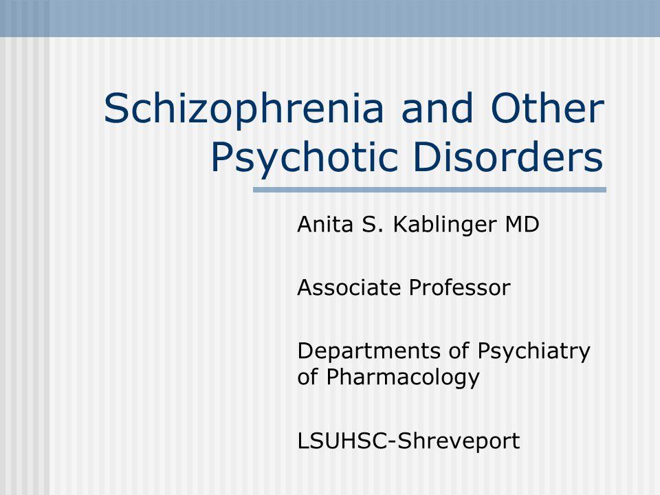 Atypical Antipsychotics: Side Effects Sedation Hyperglycemia, new-onset diabetes Anticholinergic effects Less prolactin elevation QTC prolongation Some EPS Increased lipids