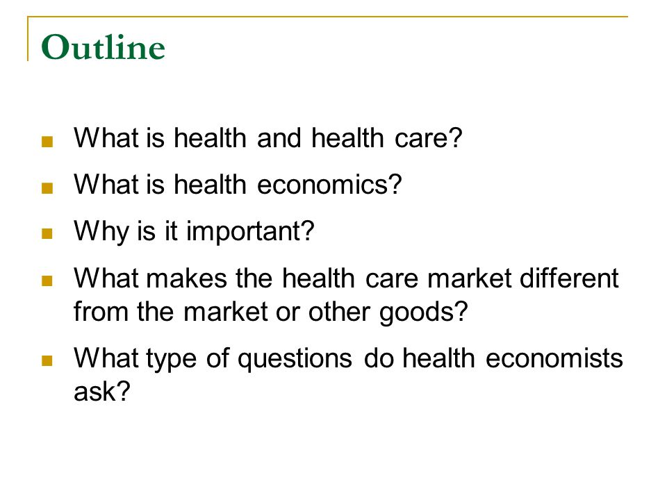 What is health Health is a multifaceted concept and not easily measurable.