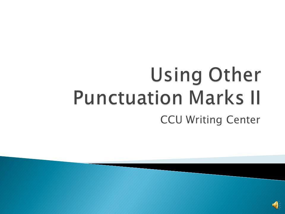 CCU Writing Center