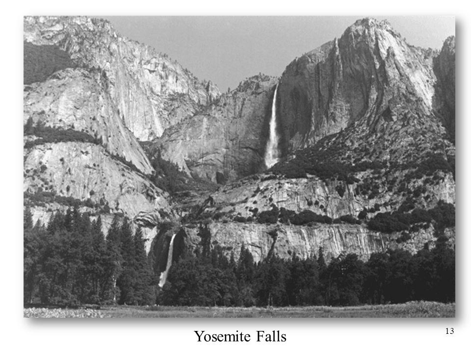 13 Yosemite Falls