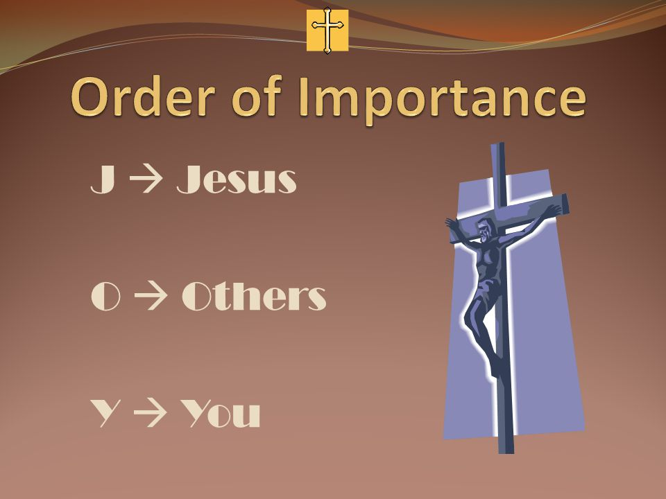 J  Jesus O  Others Y  You