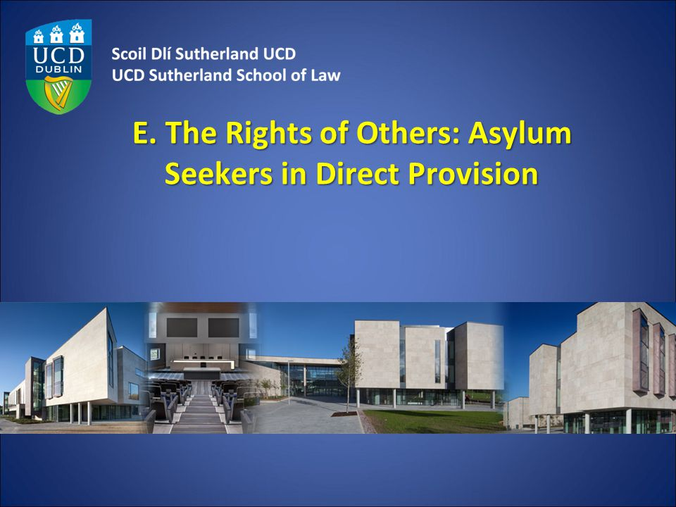 E. The Rights of Others: Asylum Seekers in Direct Provision