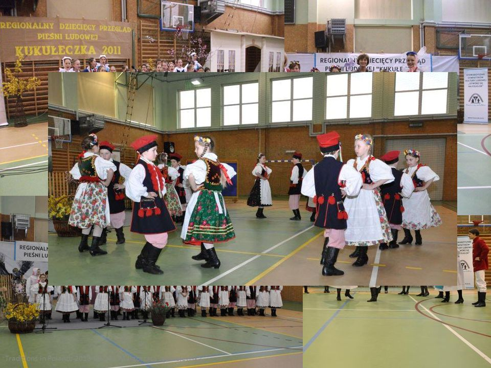 For three years our school has been one of the organisers of the Traditional Polish Folk Song competition
