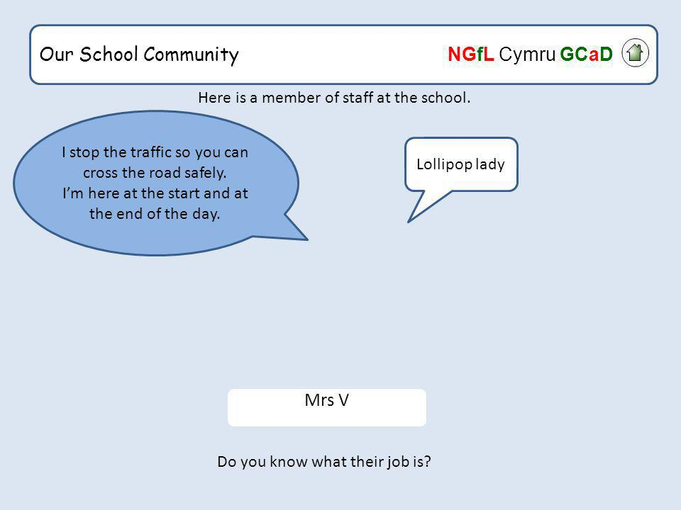 Our School Community NGfL Cymru GCaD Home Starter Activity What would happen if? Diamond Ranking