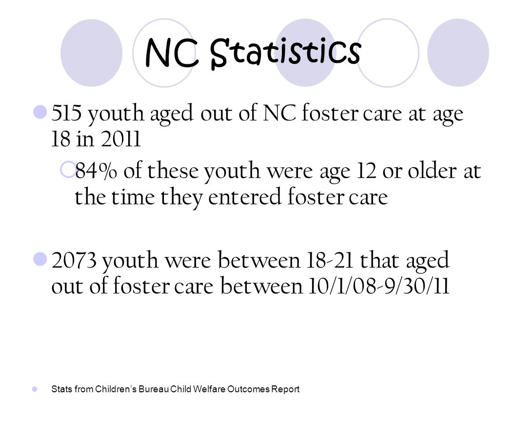 CARS Agreements C ontractual A greement F or C ontinuing R esidential S upport Allows for youth to remain in their foster care placement after age 18.
