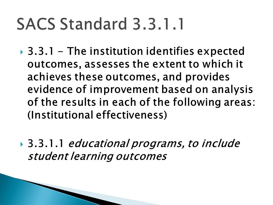  Direct assessments of student learning are those that provide for direct examination or observation of student knowledge or skills against measurable performance indicators.