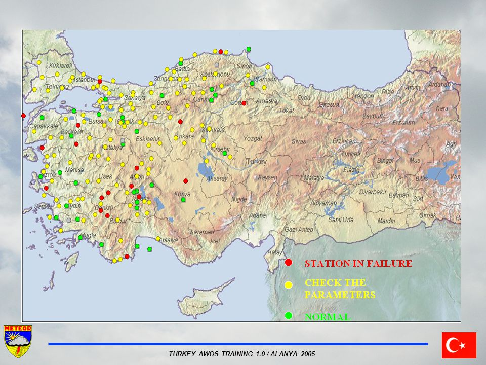 TURKEY AWOS TRAINING 1.0 / ALANYA 2005 Message coding
