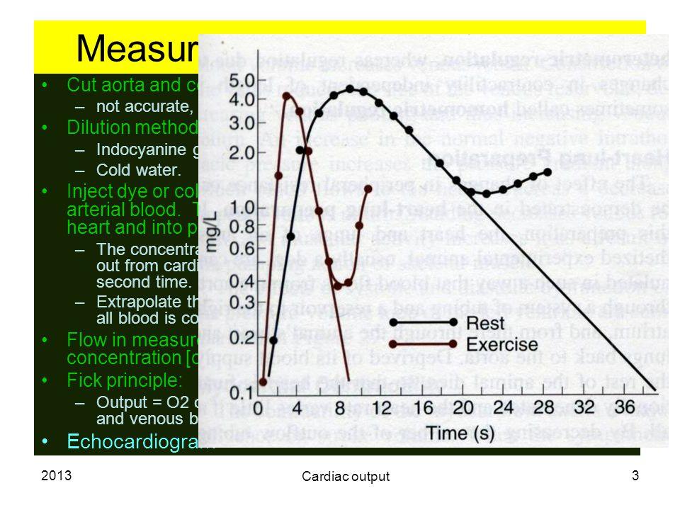 2013 Cardiac output 4 Cardiac index.