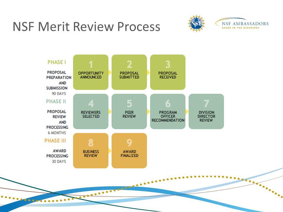 NSF Merit Review Process
