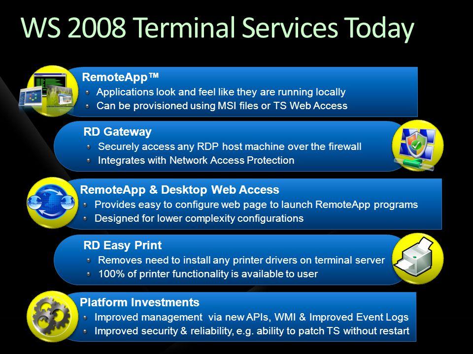 Introducing Remote Desktop Services (RDS) .