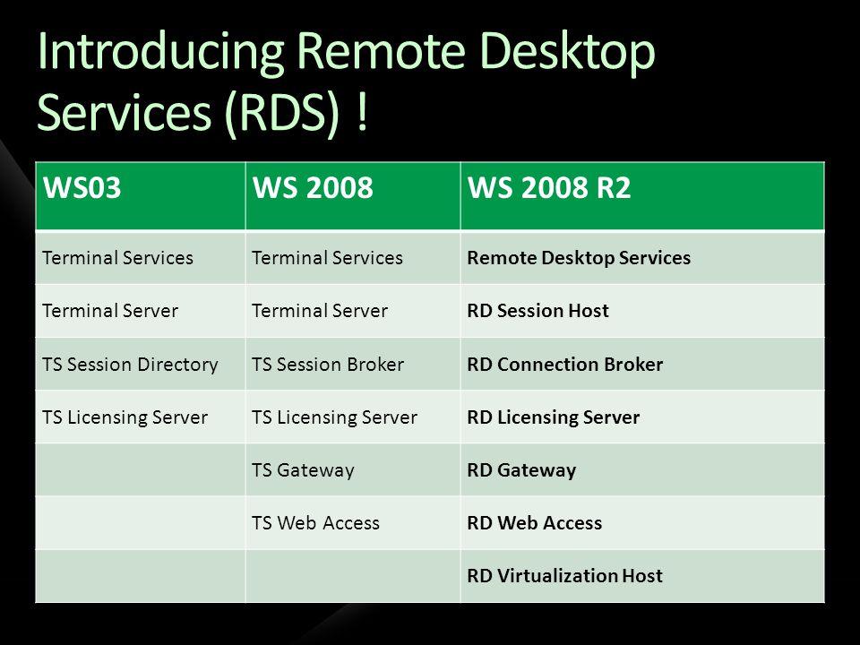 Deployment Scenarios Remote Access Desktop Replacement App Consolidation Branch Office Partner Access
