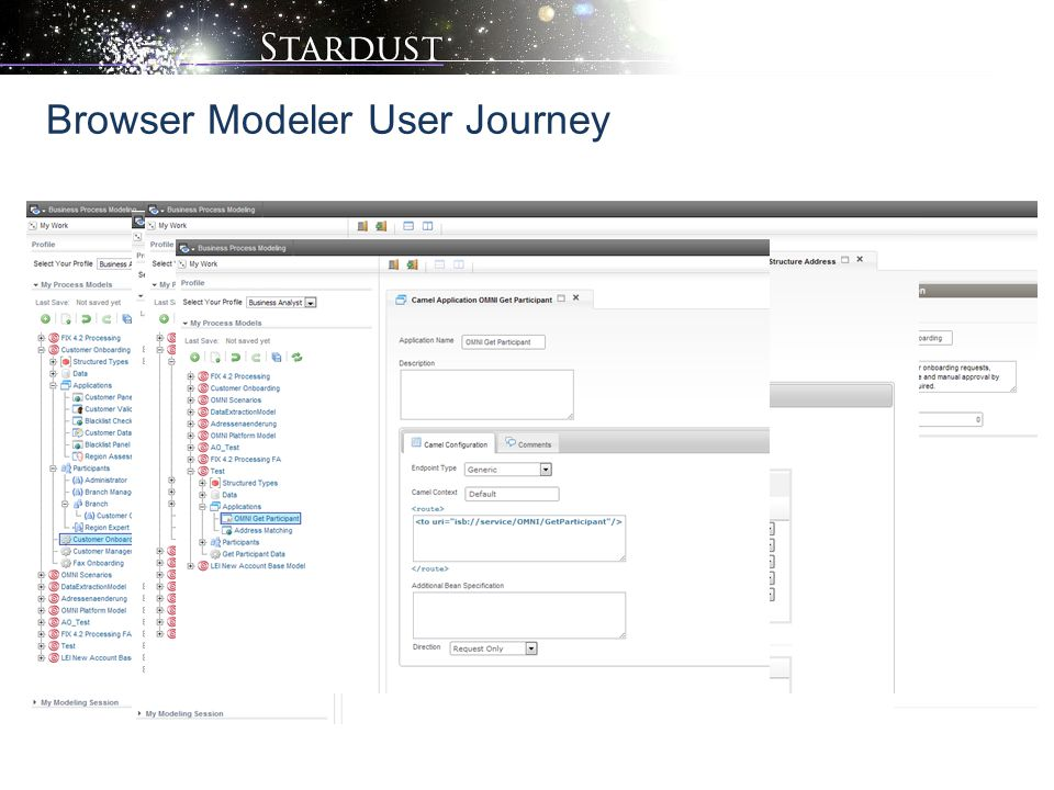 Browser Modeler User Journey