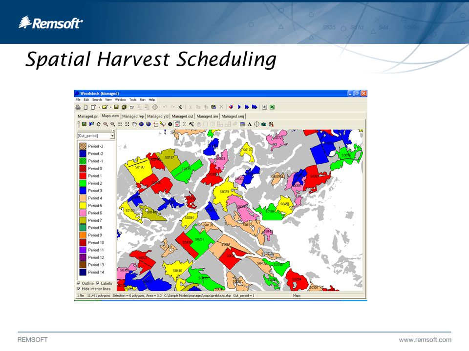 Spatial Harvest Scheduling